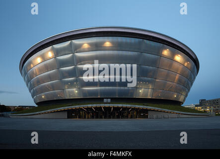 Glasgow SSE Hydro a late afternoon - Stock Photo