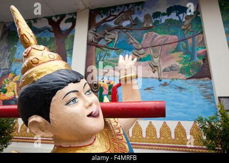 Wat Chayamangkalaram, Penang, Malaysia - Stock Photo