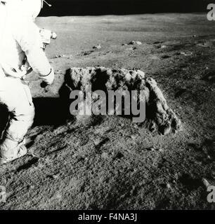 Astronaut Alan Shepard, Apollo 14, USA - Stock Photo