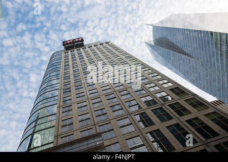 H&M Building on 42nd St in New York City USA - Stock Photo