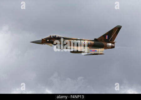 A Royal Air Force 29(R) Squadron Eurofighter Typhoon, ZK349. - Stock Photo