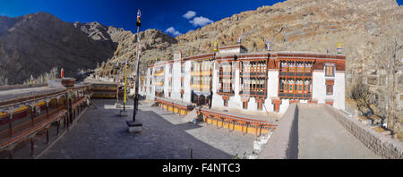 Picturesque view of monastery in Ladakh, India - Stock Photo