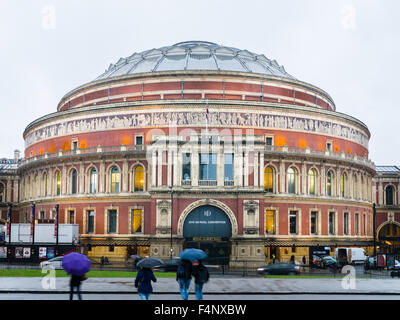 Royal Albert Hall, London, a concert hall opened in 1871 by Queen Victoria in memory of her late husband, Prince - Stock Photo