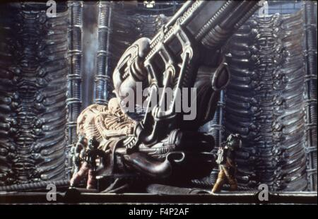 Alien 1979 directed by Ridley Scott - Stock Photo