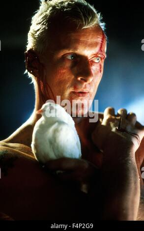 Rutger Hauer / Blade Runner 1982 directed by Ridley Scott - Stock Photo