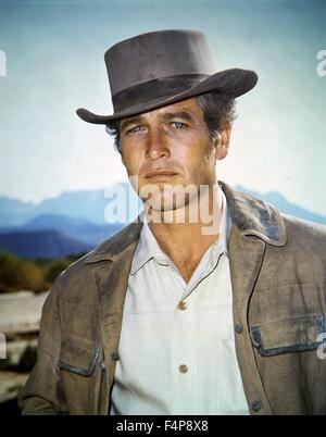 Paul Newman / Butch Cassidy and the Sundance Kid 1969 directed by George Roy Hill - Stock Photo