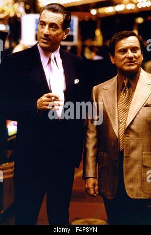 Robert de Niro, Joe Pesci / Casino 1995 directed by Martin Scorsese - Stock Photo