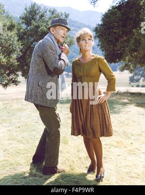 Petula Clark, Fred Astaire / Finian's Rainbow 1968 directed by Francis Ford Coppola - Stock Photo