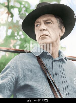 Gary Cooper / Friendly Persuasion 1956 directed by William Wyler - Stock Photo
