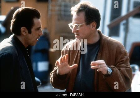 Michael Mann, Al Pacino / Heat 1995 directed by Michael Mann - Stock Photo