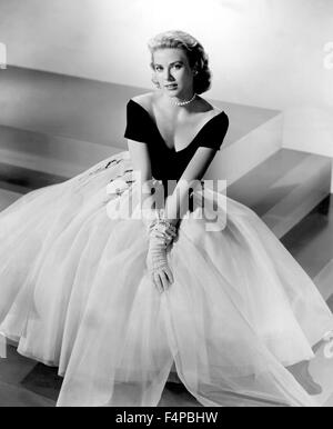 Grace Kelly / Rear Window / 1954 directed by Alfred Hitchcock - Stock Photo