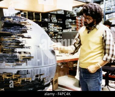 George Lucas / Star Wars - A New Hope 1977 directed by George Lucas - Stock Photo