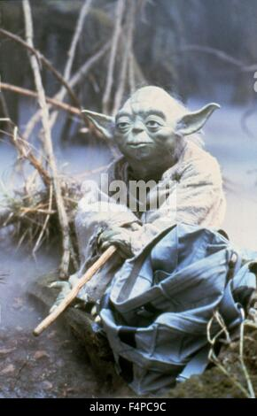 Frank Oz / Star Wars - The Empire Strikes Back 1980 directed by Irvin Kershner - Stock Photo
