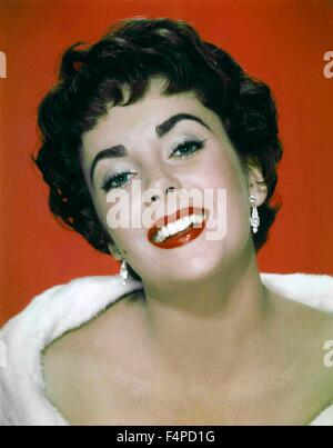 Elizabeth Taylor / The Last Time I Saw Paris 1954 directed by Richard Brooks - Stock Photo