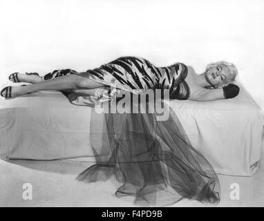 Marilyn Monroe / The Seven Year Itch 1954 directed by Billy Wilder - Stock Photo