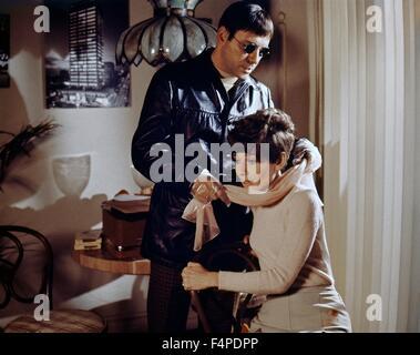 Alan Arkin, Audrey Hepburn / Wait Until Dark 1967 directed by Terence Young - Stock Photo