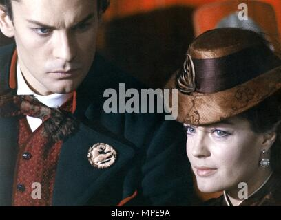Helmut Berger and Romy Schneider / Ludwig : The Mad King of Bavaria / 1972 directed by Luchino Visconti - Stock Photo