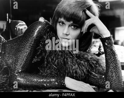 Jane Fonda / Klute / 1971 directed by Alan J Pakula - Stock Photo