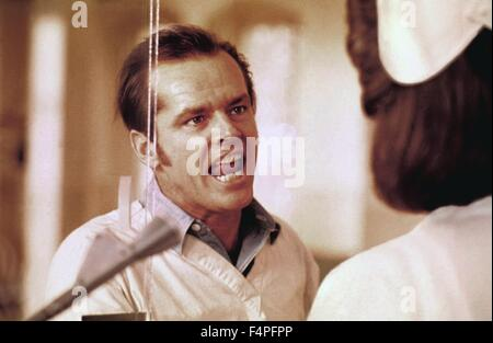 Jack Nicholson / One Flew Over the Cuckoo's Nest / 1975 directed by Milos Forman - Stock Photo