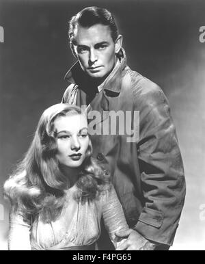 Veronica Lake and Alan Ladd / This Gun for Hire / 1942 directed by Frank Tuttle - Stock Photo
