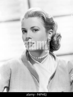 Grace Kelly / Rear Window / 1954 directed by Alfred Hitchcock [Paramount Pictures] - Stock Photo