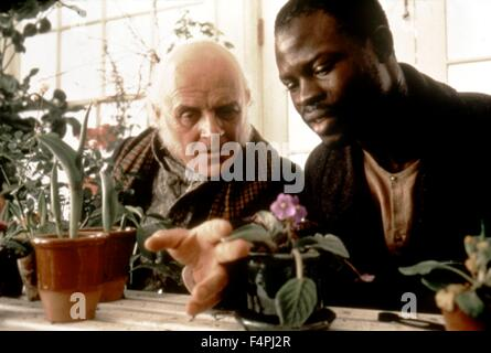 Anthony Hopkins and Djimon Hounsou / Amistad / 1997 directed by Steven Spielberg [Dreamworks Pictures] - Stock Photo