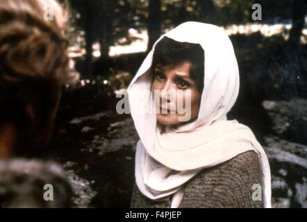 Audrey Hepburn / Robin and Marian / 1976 realise par Richard Lester [Columbia Pictures] - Stock Photo