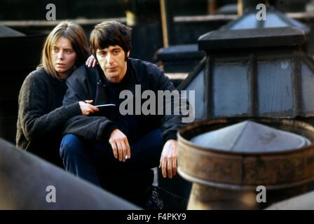 Kitty Winn and Al Pacino / The Panic in Needle Park / 1971 directed by Jerry Schatzberg [Twentieth Century Fox Film - Stock Photo