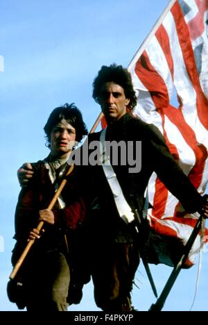 Dexter Fletcher and Al Pacino / Revolution / 1985 directed by Hugh Hudson   [Warner Bros. Pictures] - Stock Photo