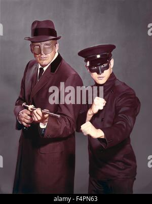 Van Williams and Bruce Lee / The Green Hornet (TV Series) / 1966-1967 created by  George W. Trendle [Twentieth Century - Stock Photo