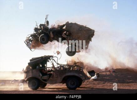 Mad Max Beyond Thunderdome / 1985 directed by George Miller and George Ogilvie [Warner Bros. Pictures] - Stock Photo