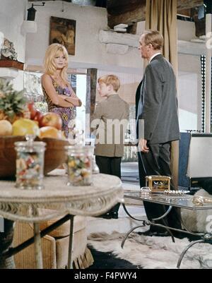 Brigitte Bardot, Billy Mumy and James Stewart / Dear Brigitte / 1965 directed by Henry Koster  [Twentieth Century - Stock Photo