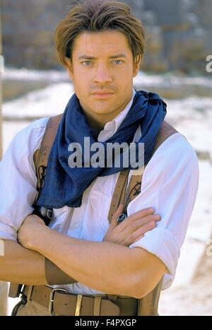Brendan Fraser / The Mummy / 1999 / directed by Stephen Sommers / [Universal Pictures] - Stock Photo