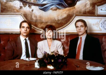Genevieve Bujold and Jeremy Irons / Dead Ringers / 1988 / directed by David Cronenberg / Mantle Clinic II - Stock Photo