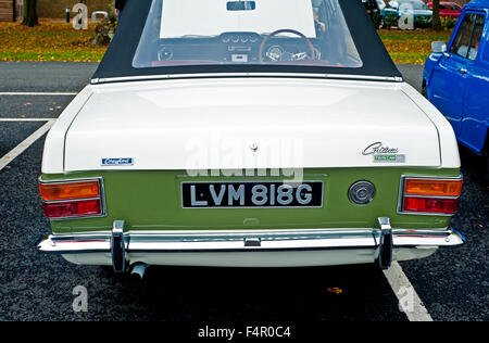MK 11 Ford Lotus Cortina Convertible by Crayford - Stock Photo