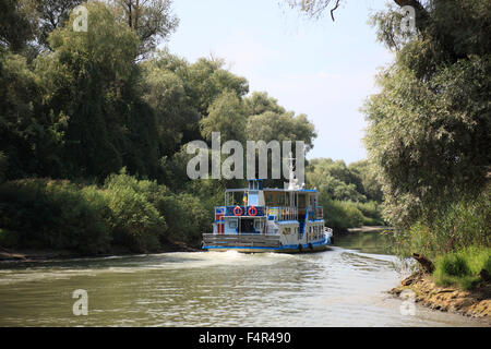 Danube Delta Biosphere Reserve, near Tulcea, Romania - Stock Photo