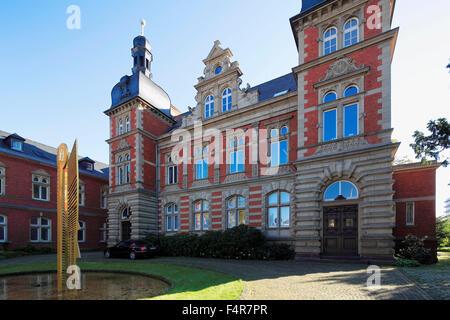 Staendehaus mit Sitz von Landrat und Kreisverwaltung des Rhein-Kreises Neuss in Grevenbroich, Niederrhein, Nordrhein - Stock Photo