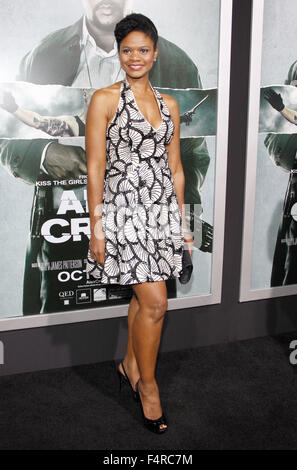 KImberly Elise at the Los Angeles premiere of 'Alex Cross' held at the ArcLight Cinemas in Los Angeles, USA on October - Stock Photo
