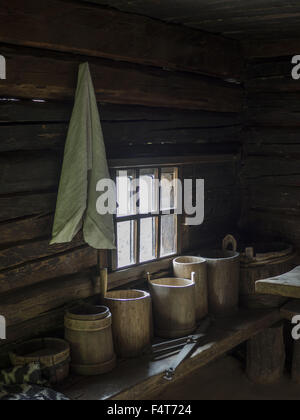Oct. 14, 2015 - Ukrainian vintage  interior of farm house (Credit Image: © Igor Goiovniov via ZUMA Wire) - Stock Photo