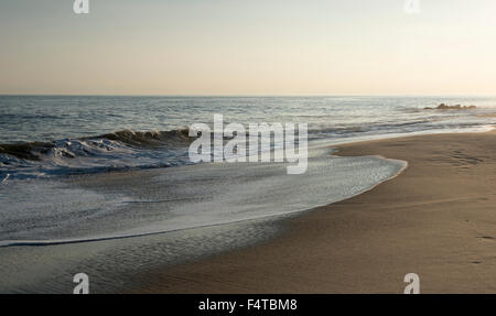 The beach at Cape May, New Jersey USA - Stock Photo
