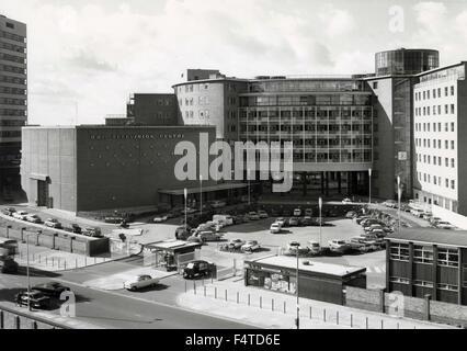 The BBC TV Centre in Shepherd's Bush, London, UK - Stock Photo
