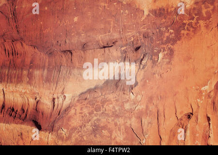 Natural rock surface background or texture. - Stock Photo