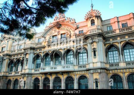 Central Port de Barcelona building, Spain - Stock Photo