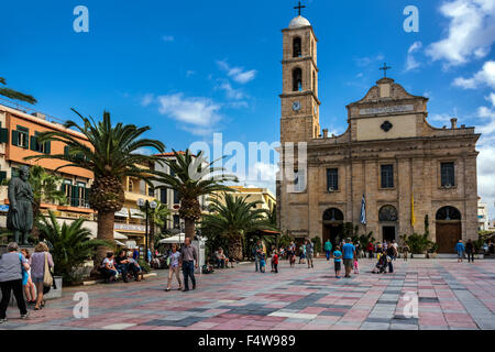 Church of Triartyri, Chania Crete. - Stock Photo