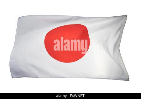japan flag, japanese flag - Stock Photo