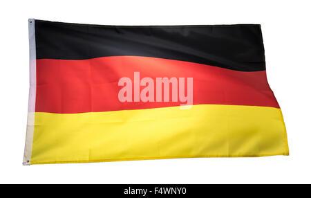 german flag, germany flag, deutschland flag - Stock Photo