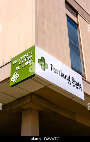 Portland State University Market Center Building