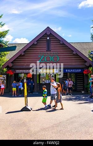 Entrance to the Portland Zoo at Washington park, Portland Oregon