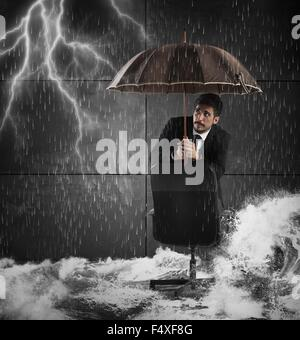 Protection from disaster - Stock Photo