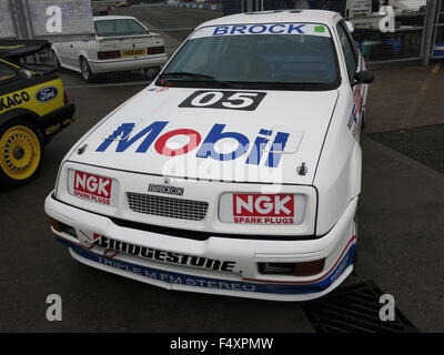 Ford Sierra RS500 RS 500 Cosworth Australian Touring Car Championship 1989 1990 - as driven by Peter Brock and Andy - Stock Photo